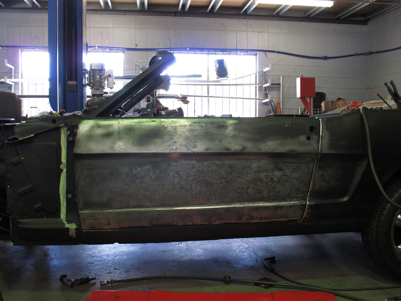 Brisbane 1966 Ford Mustang Convertible - Restoration Project Build - Ol' School Garage (46).jpg