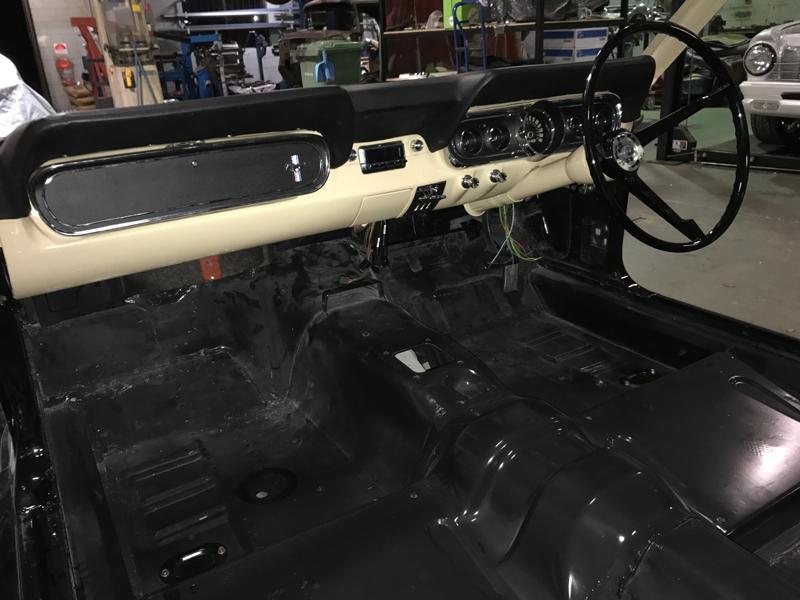 66 Ford Mustang Convertible Black - Restoration Brisbane (10).jpg