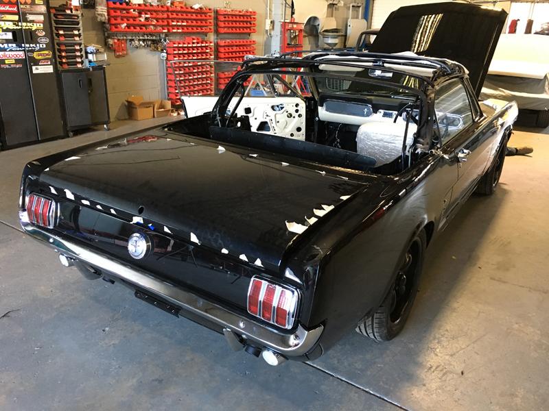 66 Ford Mustang Convertible Black - Restoration Brisbane (2).jpg