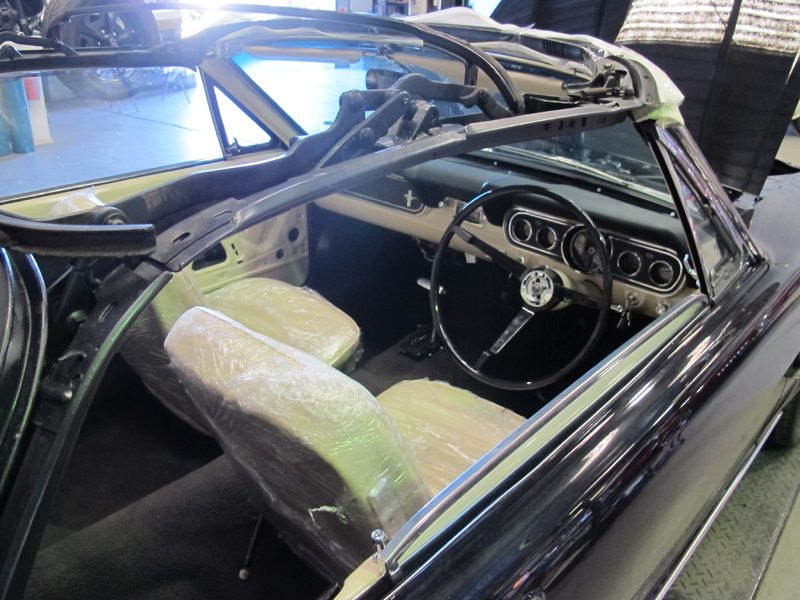 66 Ford Mustang Convertible Black - Restoration Brisbane (6).jpg