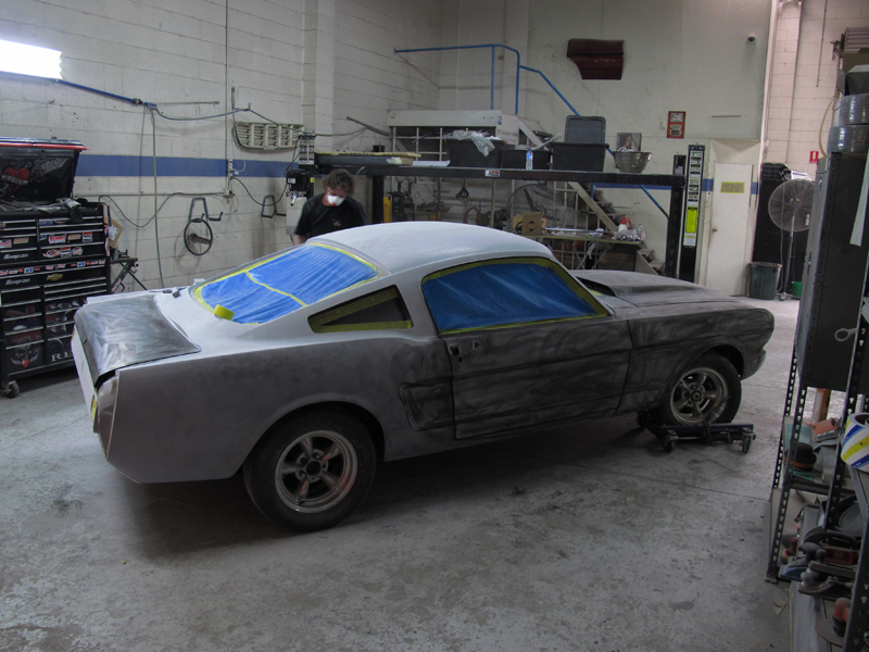 1966 Ford Mustang Fastback Restoration - Ol' School Garage Brisbane (33).jpg