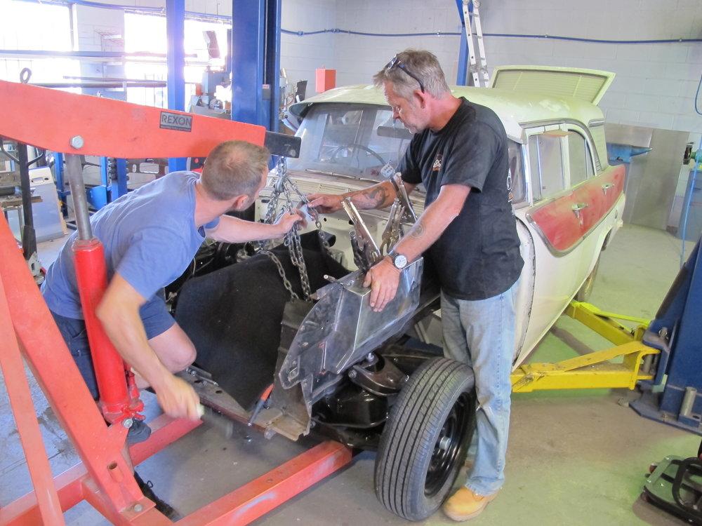 Holden FB Wagon - Ol' School Garage (34).JPG