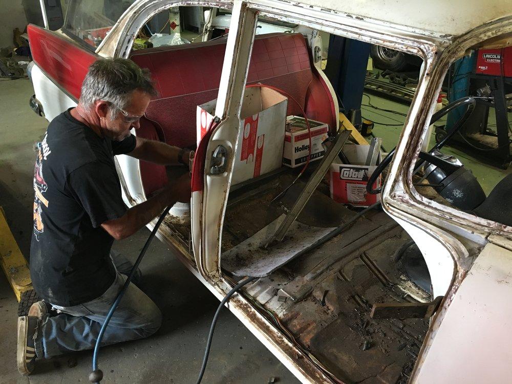 Holden FB Wagon - Ol' School Garage (22).JPG