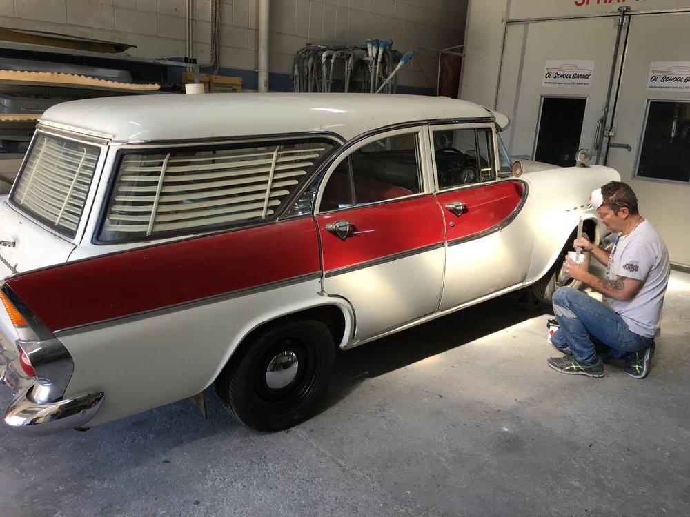 Holden FB Wagon - Ol' School Garage (37).JPG