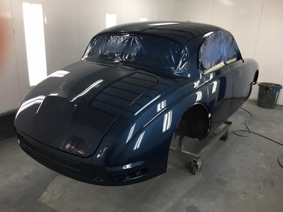 '63 Mark II Jaguar Brisbane Gold Coast Paint - Restoration (2).jpg