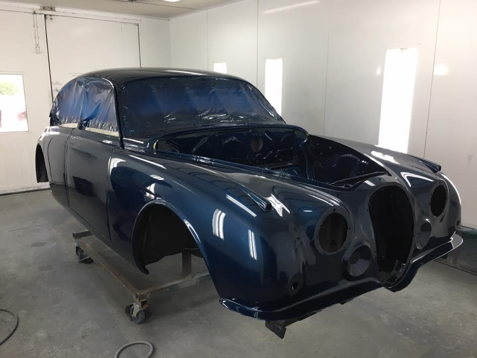 '63 Mark II Jaguar Brisbane Gold Coast Paint - Restoration (1).jpg
