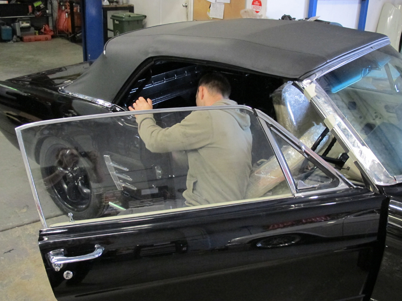 1966 Ford Mustang Convertible Black Restoration Project Australia Brisbane (4).jpg