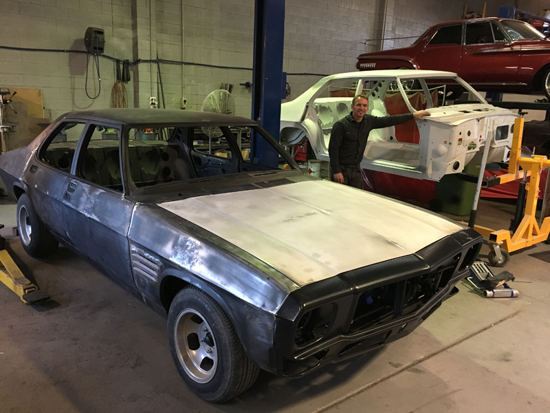 73 Holden HQ sedan metal work body work - restoration (3).jpg