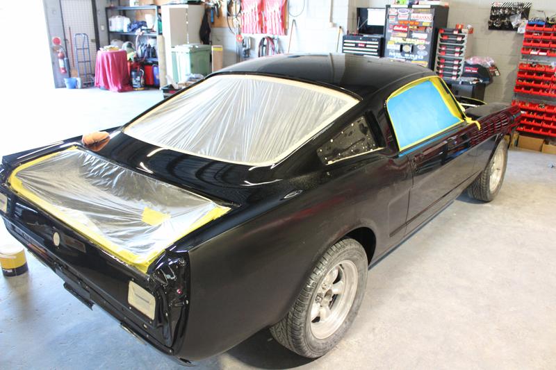 1965 Ford Mustang Fastback Black restoration - australia (12).jpg