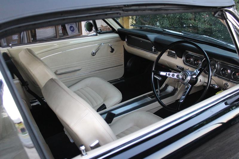 Restored 1966 Ford Mustang Convertible - Ol' School Garage - Brisbane Australia (8).jpg