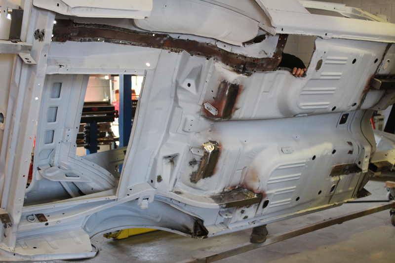 1967 Ford Mustang Rust Repair Fabrication Brisbane Gold Coast Queensland - Ol' Sc (14).jpg