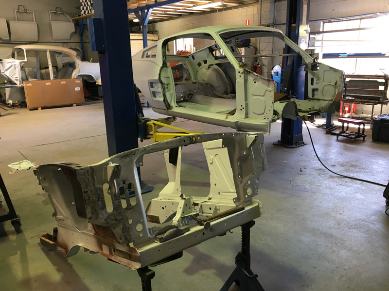 1967 Ford Mustang Rust Repair Fabrication Brisbane Gold Coast Queensland - Ol' Sc (1).jpg