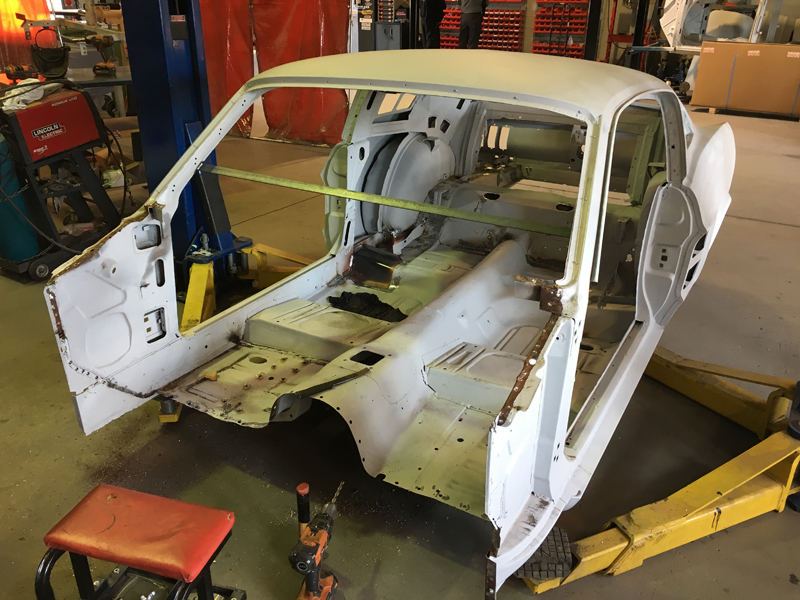 1967 Ford Mustang Rust Repair Fabrication Brisbane Gold Coast Queensland - Ol' Sc (23).jpg
