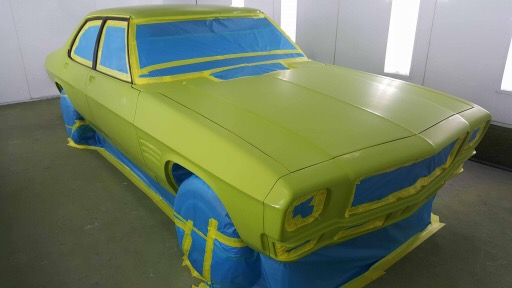 Holden HQ Lettuce Alone Green - Restoration Bare metal Brisbane (14).JPG