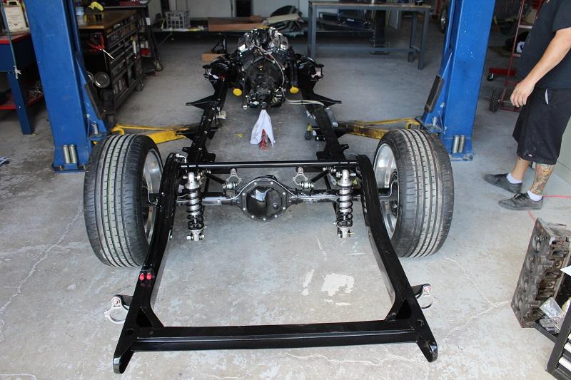 1955 Chevrolet rolling chassis - ol' school garage brisbane (4).JPG