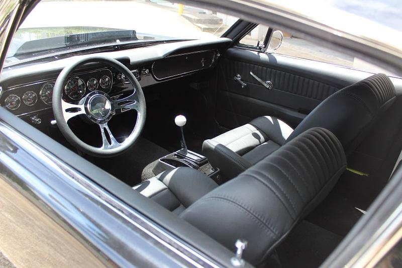 1967 Ford Mustang Fastback Black Restored Australia (6).JPG