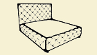 W 240-180 Breite: 210 cmTiefe: 230 cm Höhe: 133 cm Sitzhöhe: 53-63 cm Liegefläche: 180 x 200 cm