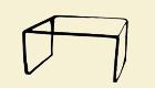 R146T Breite: 96 cmTiefe: 40 cm Höhe: 42 cm
