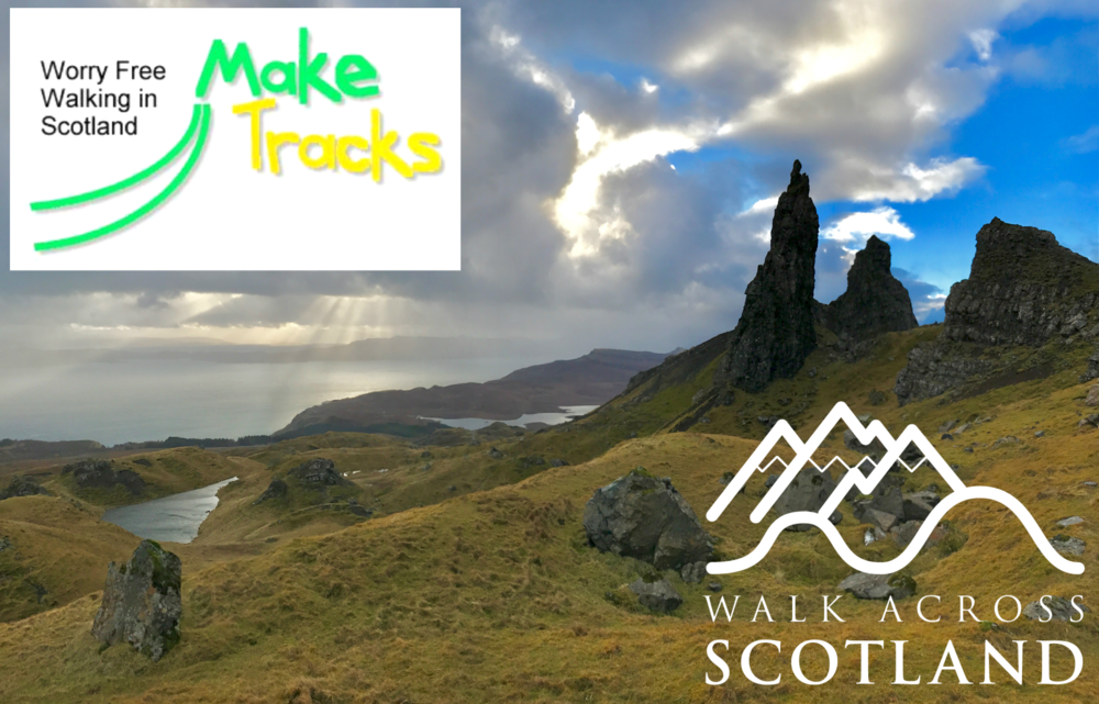 We are absolutely thrilled to have teamed up with Make Tracks, one of Scotland's original Walking Holidays providers. With nearly 20 different short and long distance trails to choose from, we can now offer a wide range of walking opportunites across our beautiful country.