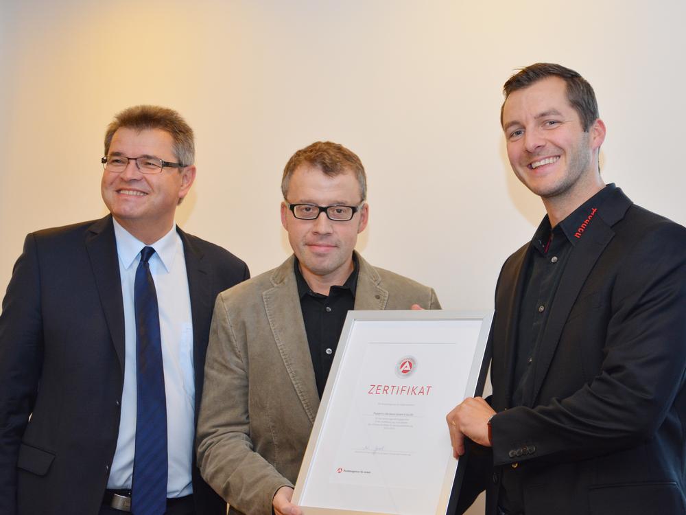 von links: Waldemar Dombrowski, Bernd Pappert, Daniel Schmidtke.