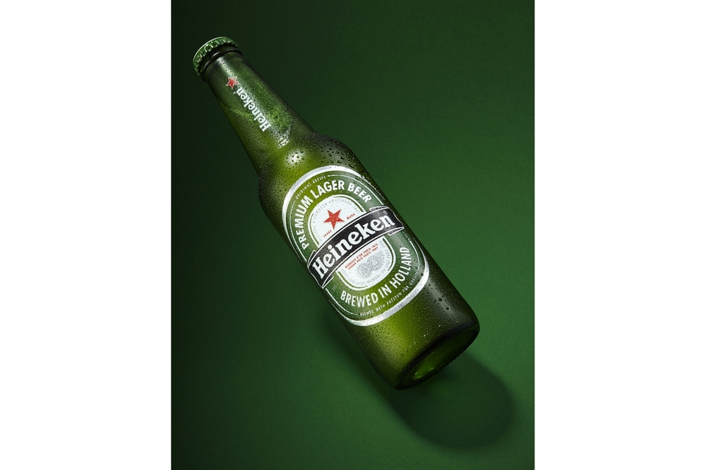 Heineken Product Shot by Simon Lyle Ritchie