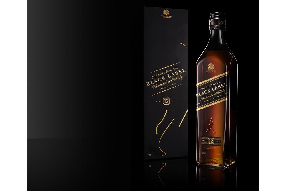 Drinks Photography - Johnnie Walker Black Label