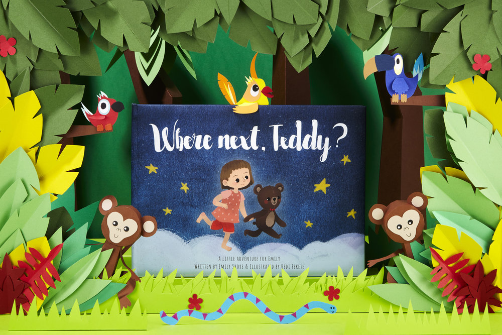 Where Next Teddy? Children's Book by Still Life Photographer Simon Lyle Ritchie