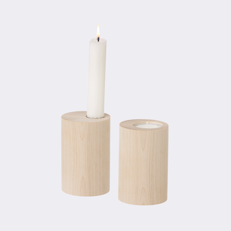 ferm living cylinder candle holder