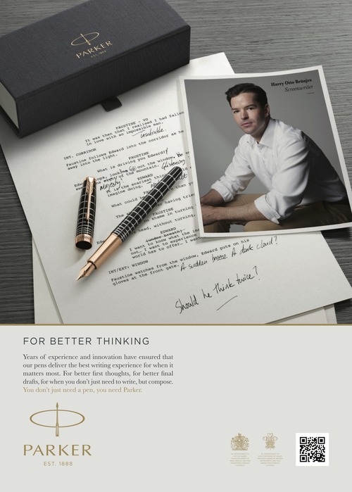 Harry Otto Brunjes, Parker Pen, Better Thinking