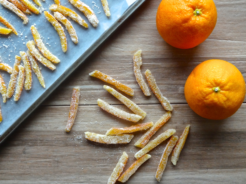 Chocolate-Dipped Candied Orange Peel — Veggies & Gin