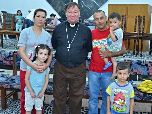 A Christian family from Mosul finds a home at the Presbyterian Church in Kirkuk