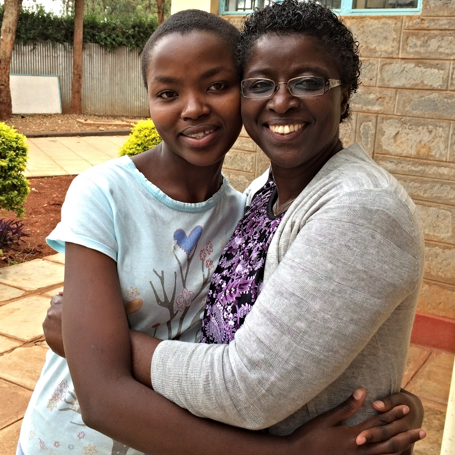 Alice Wanjiru (left) and Ebralie Mwizerwa