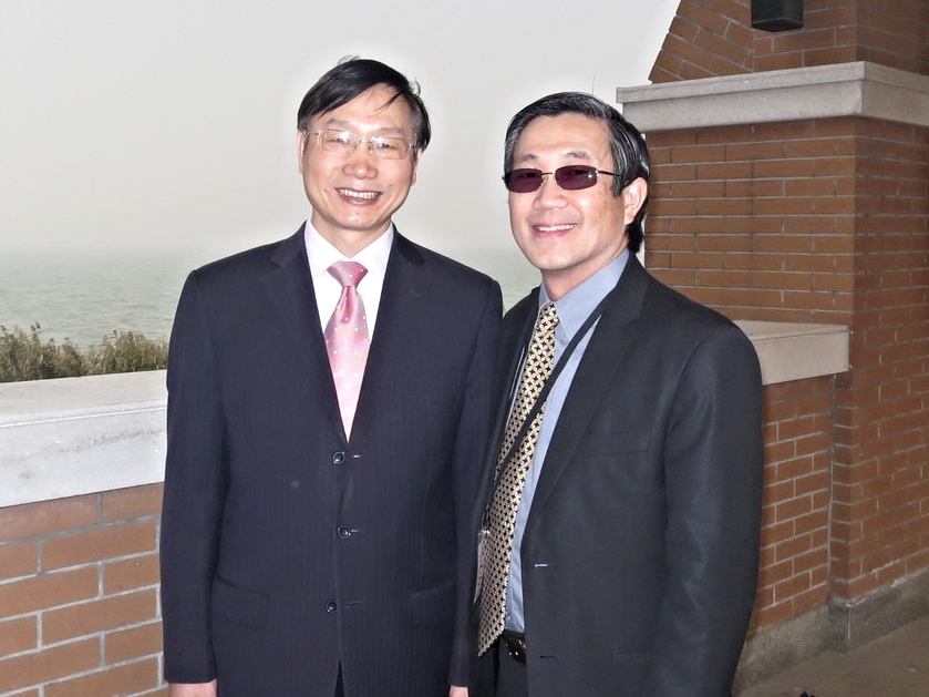 Peter with Rev. He Jie Miao