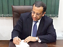 Dr. Atef Gendy, president of ETSC
