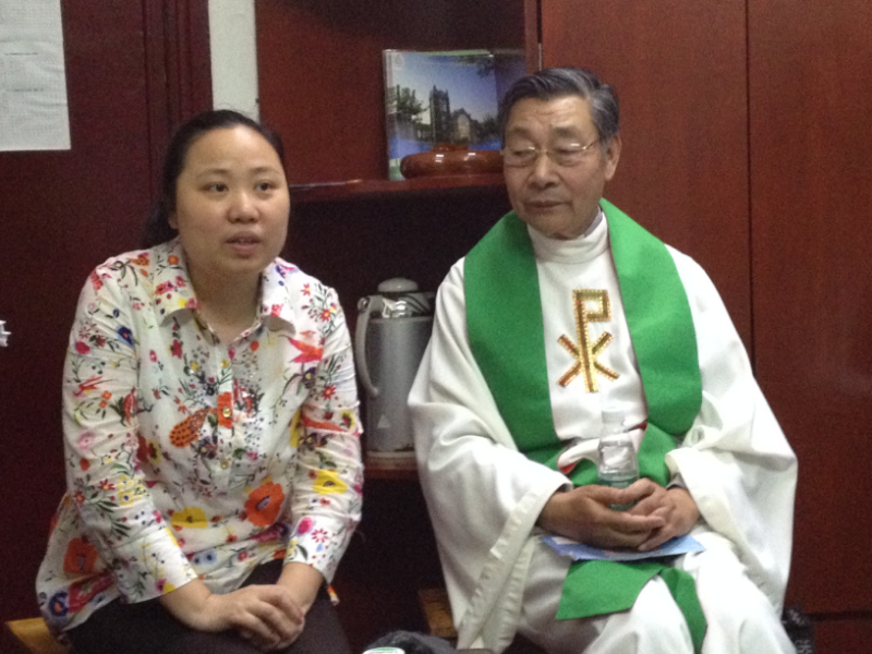 Rev. Fan and Rev. Zhao