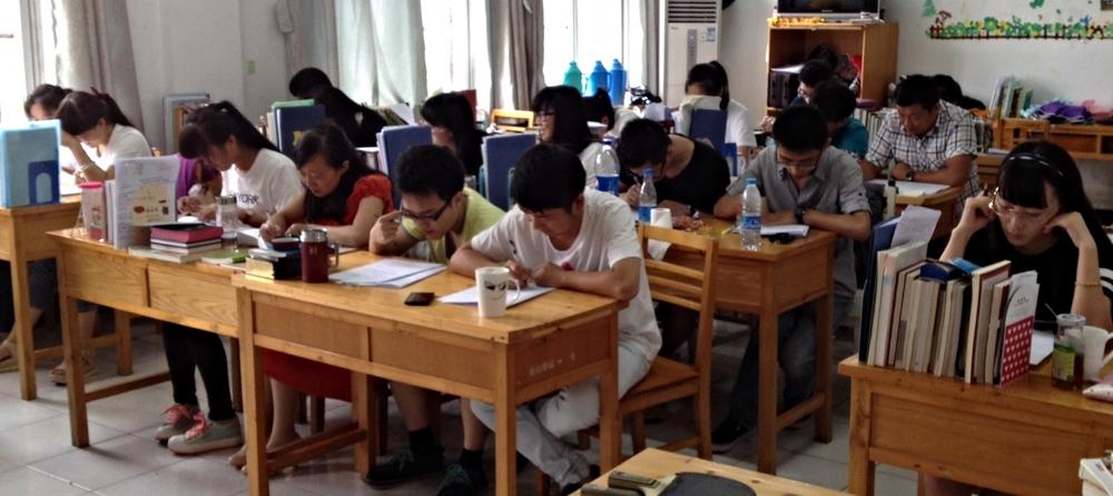 Jiangsu Provincial Seminary students