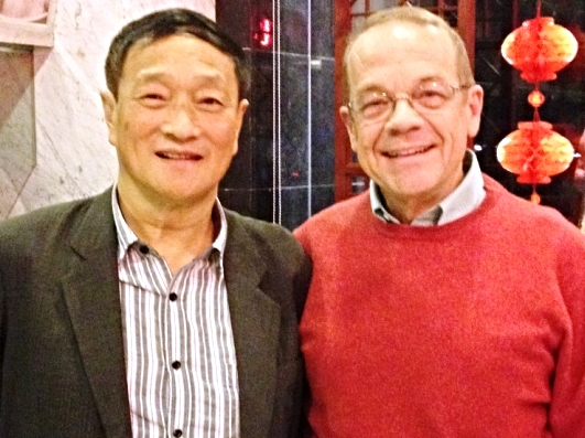 Rev. Bao Jia Yuan and Rev. Jeff Ritchie