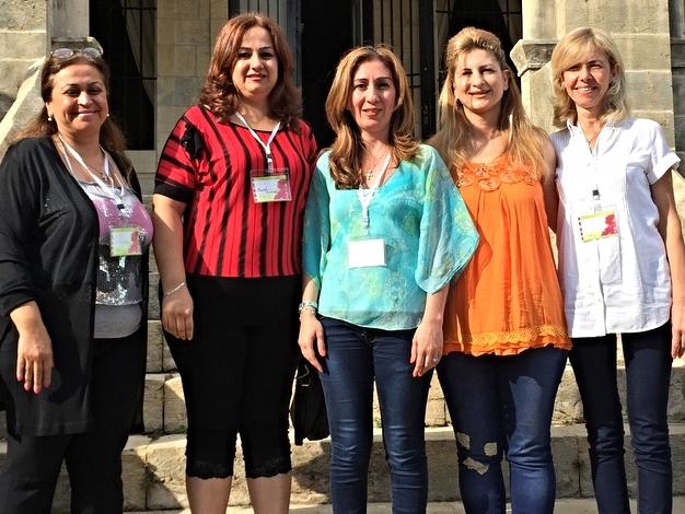 Brave women from Aleppo: Lina, Muriel, Tammy, Rawaa, Salwa