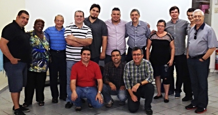 Pastors in Rio de Janeiro who have formed their own SARA Ministry