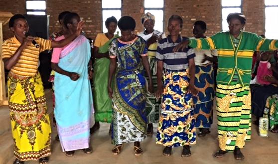 Women's choir at Rukamiro