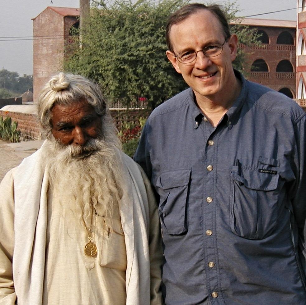 Sadhu Maharaj and Rob