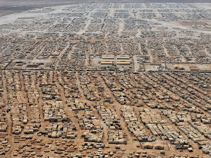 "30,000 Syrian refugees make their ""home"" in the Za'atari Refugee Camp"