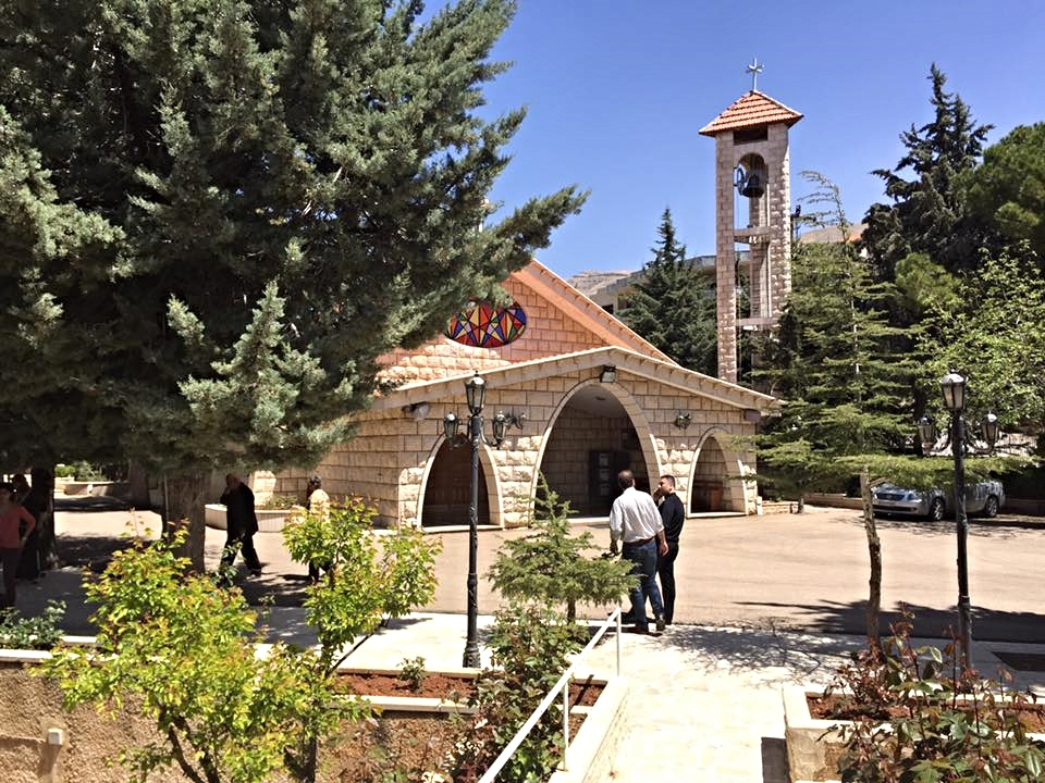 This is the Presbyterian church in Bloudan.