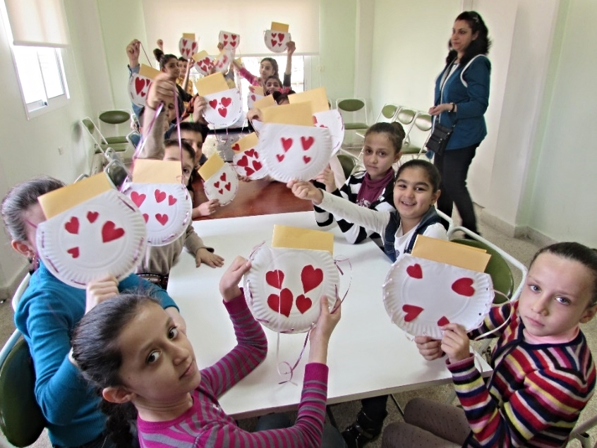 At the OLD, programs for the children of refugee families are a high priority.