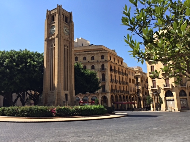 Clock Tower Square: the heart of old Beirut