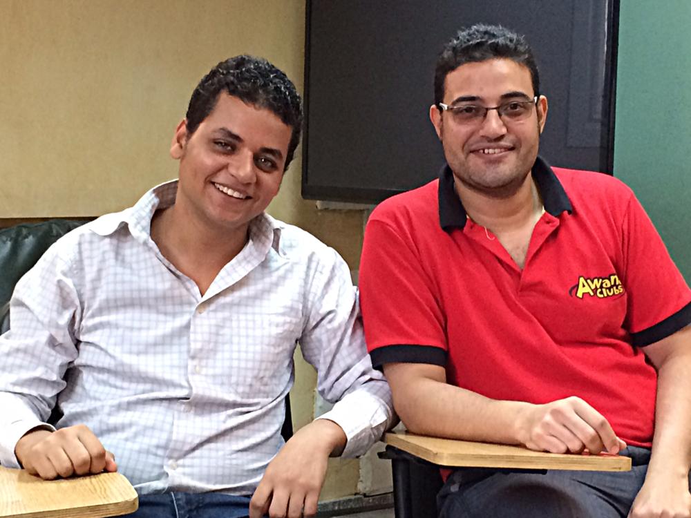 ETSC students Jeremiah and John