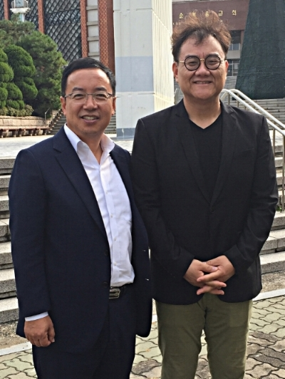 Pastors James Kwon and Paul Kim, Hyungjae Church