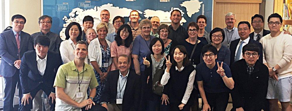Group at Presbyterian Seminary