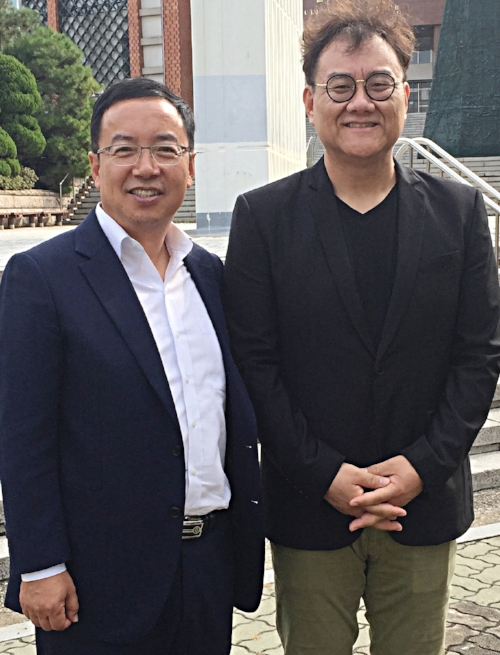 Pastors James Kwon and Paul Kim