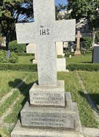 Mary Fletcher Benton Scranton, an early missionary to Korea, is buried in Yanghwajin Foreign Missionary Cemetery, Seoul